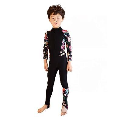 8b6cd3f61de58 TMM 子供用水着 フィットネス 競泳用 子供用ウエットスーツ ラッシュガード 日焼け止め UV