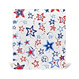 Top Carpenter Star Background Stretchable Book Binding Cover Case Suits - 9x11in - Textbook Paperback Hardcover Bibles School