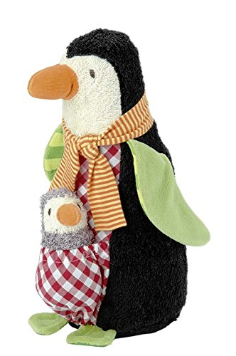 Kathe Kruse - Penguin Friedjof Plush Toy with Baby Nana ()