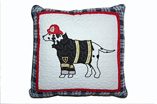 Price comparison product image Cozy Line Home Fashions Fire Dog Decorative Pillow, Dalmatian