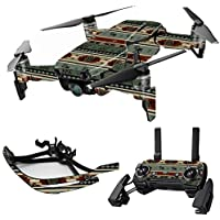 MightySkins Skin for DJI Mavic Air Drone - Cabin Stripes | Max Combo Protective, Durable, and Unique Vinyl Decal wrap cover | Easy To Apply, Remove, and Change Styles | Made in the USA