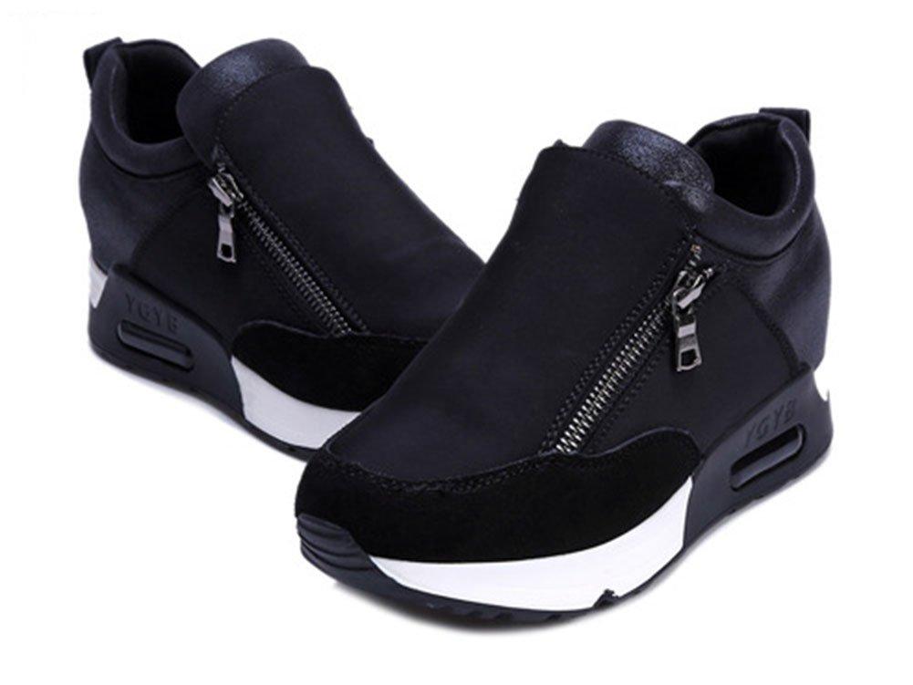Zapatos Correr De Cierre Para Wealsex Cremallera Cuñas B073x6ldjs xARp4WqHIw