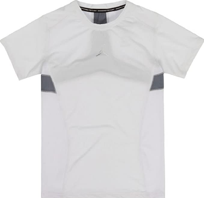Amazon.com: NIKE Air Jordan Boys Stay Cool Compression T-Shirt: Clothing
