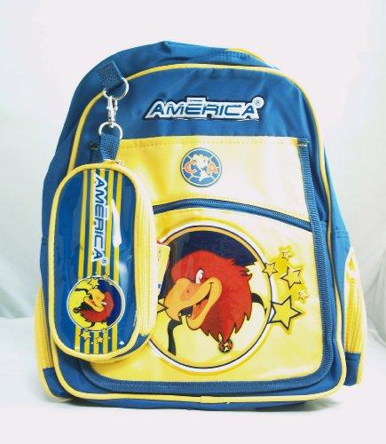 CA Club America Team Logo Children's Backpack - 001 (Club America Backpack)