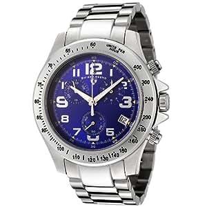Swiss Legend SL-50041-33 - Reloj cronógrafo cuazo para hombre, correa de acero color gris