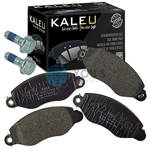 Kale 1144288 Front Axle Set of Brake Pads Brake Pads: