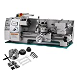 BestEquip Maintenance Free Metal Lathe Variable Spindle Speed Lathe 8×16 Inch Mini Bench Lathe 750W High Precision Lathe Machine For Sale