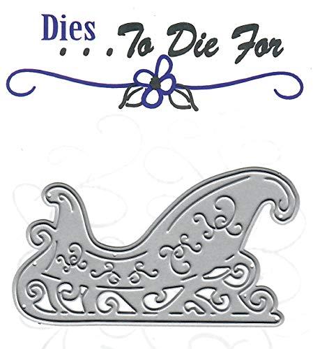 Dies to die for Metal Craft Cutting die - Santa's Sleigh - Christmas/Winte Fun
