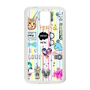 Canting_Good Quotes logos Stickers Tumblr Custom Case Cover Shell for Samsung Galaxy S5 (Laser Technology)