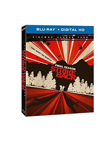 Blu-ray : Strike Back: The Complete Fourth Season (Full Frame, Ultraviolet Digital Copy, 3 Pack, Slipsleeve Packaging, Dolby)