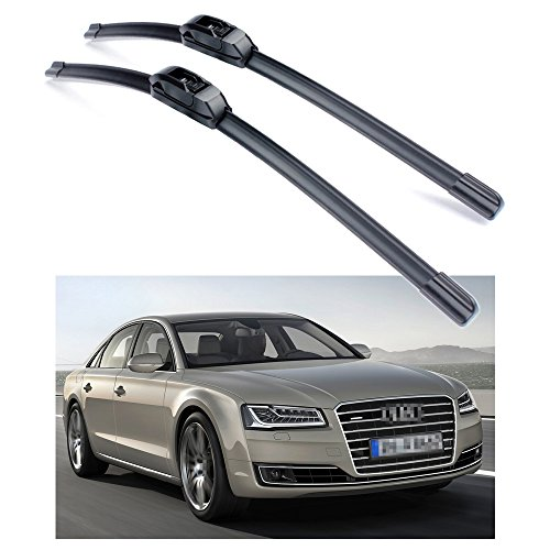 "SPEEDLONG 26"" 20"" Car Wiper Blade Refresh Windshield Bracketless for Audi A8/A8L 2011-2017"