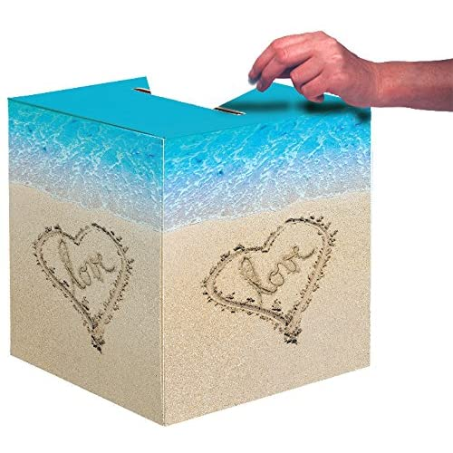 Wedding Gift Card Boxes For Reception Amazon Com