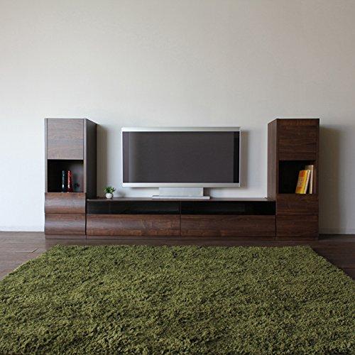 OC幅180cmテレビ台3点セットテレビボードブラウンウォールナット国産日本製木製TVボード北欧家具テイストローボードリビングボードテレビ台のみ収納付きテレビ台国産テレビ台完成品テレビボード