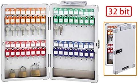 Armarios para llaves Caja de Clave de contraseña de 32 bits Caja portátil para Guardar Llaves Gabinete para Llaves montado en la Pared con Cerradura de combinación: Amazon.es: Hogar