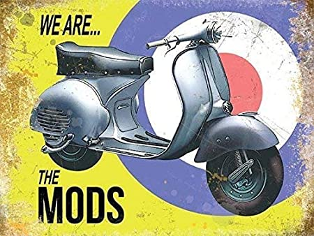 RKO Vespa We Are The Mods Scooter Target Background-Parent ...