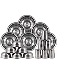 Craft view, Stainless Steel Pack of 18 Dinner Set (Stainless Steel)