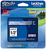 12Mm Label Printer - 2/Pack Genuine Brother 1/2