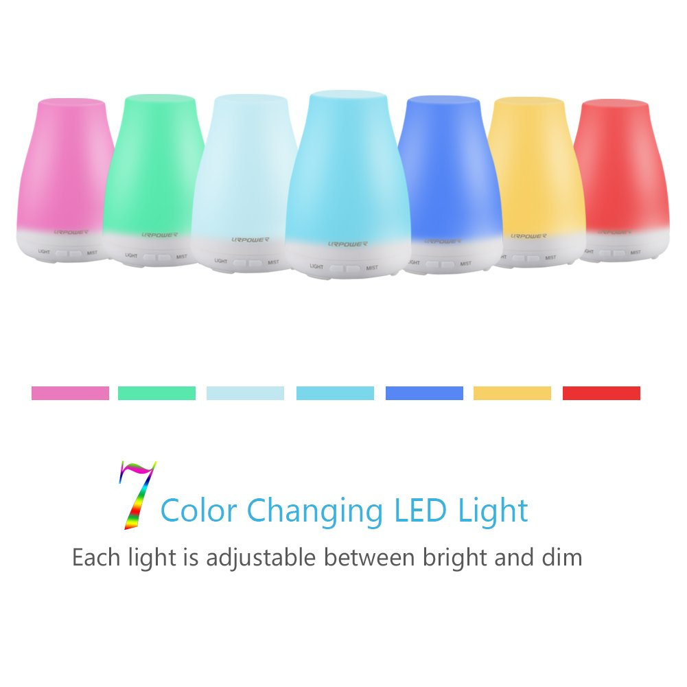 Essential Oil Diffuser,100ml Aroma Essential Oil Cool Mist Humidifier with Adjustable Mist Mode