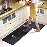 Non-Slip Kitchen Mat Rubber Backing Doormat Runner Rug Front Door Mat Floor Carpet