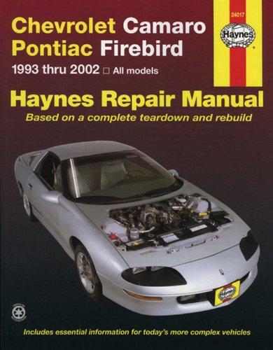 pontiac firebird manual - 2
