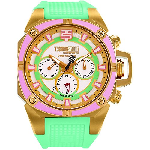 TechnoSport Woman's Chrono Watch - DREAMLINE gold