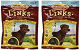 Zuke's Lil' Links Healthy Little Sausage Links for Dogs, Chicken&Apple, 6 oz (Pack of 2)