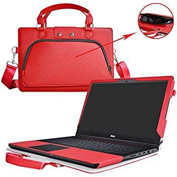 Inspiron 15 Gaming Edition 5577 5576 Case,2 in 1 Accurately Designed Protective PU Leather