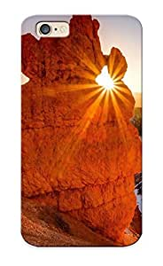 Fireingrass High Grade Flexible PC For Case Iphone 4/4S Cover - Utah Mountains Rocks Landscape Sunset ( Best Gift Choice For Thanksgiving Day)