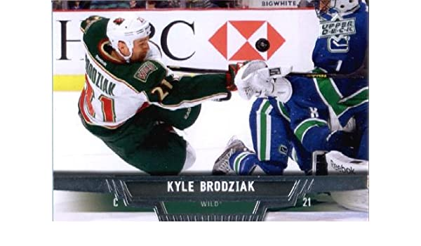 Amazon.com: 2013 Upper Deck Hockey Card (2013-14) #131 Kyle Brodziak Mint: Collectibles & Fine Art