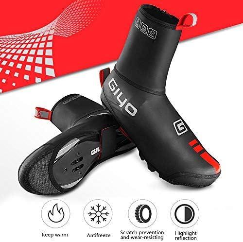 Hamkaw Cubiertas para zapatos de ciclismo de invierno