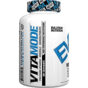 Evlution Nutrition Multivitamin, VitaMode, Daily Vitamin Support (30 Servings)