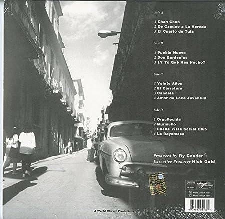 Buena Vista Social Club Buena Vista Social Club 2lp 180 Gram Vinyl Amazon Com Music