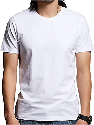 Cuizc - Camiseta de manga corta para hombre con cuello ...