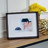 Scott Living MDF Picture Frame, 5x7-Inch, Dark Brown