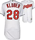 Corey Kluber Cleveland Indians Autographed Majestic White Authentic Jersey - Fanatics Authentic Certified