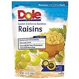 Dole Raisins Golden California Seedless, 12 OZ (Pack of 12)