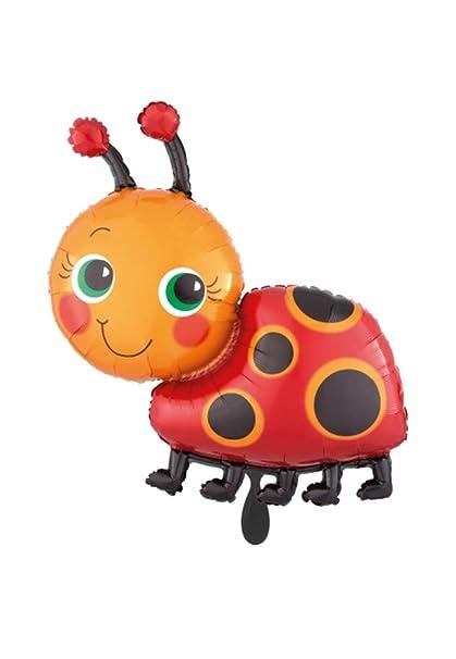 Balloonarama - XXL - Globo - Miss Ladybug Mariquita Maikäfer ...
