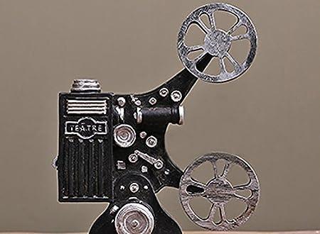 Retro Vintage de la película proyector resina modelo/adorno ...