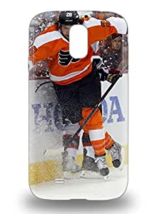 Tpu 3D PC Case Cover Compatible For Galaxy S4 Hot 3D PC Case NHL Philadelphia Flyers Claude Giroux #28 ( Custom Picture iPhone 6, iPhone 6 PLUS, iPhone 5, iPhone 5S, iPhone 5C, iPhone 4, iPhone 4S,Galaxy S6,Galaxy S5,Galaxy S4,Galaxy S3,Note 3,iPad Mini-Mini 2,iPad Air )
