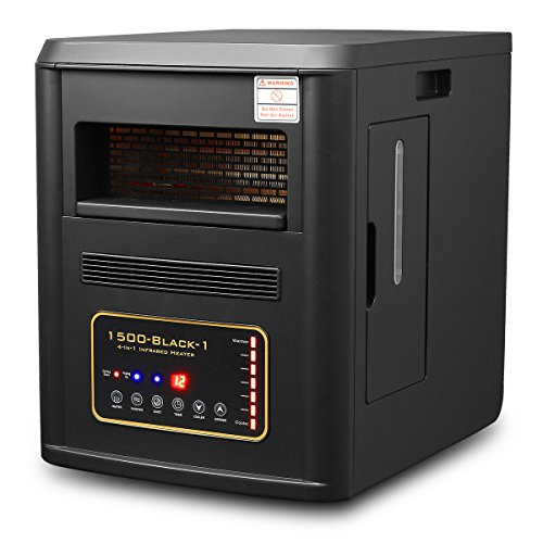 Infrared Humidifier Inverter purifier XPD 1500BLK