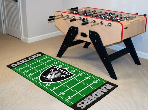 NFL - Oakland Raiders Floor Runner by Fanmats