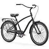 sixthreezero EVRYjourney Men's Single-Speed Hybrid Cruiser Bicycle, Matte Black w/ Black Seat/Grips Review