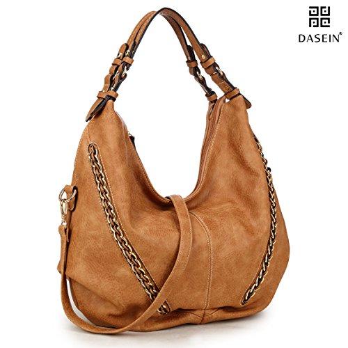 dasein-soft-washed-vintage-dual-handle-casual-hobo-shoulder-bag-w-crossbody-strap