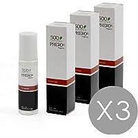 500 Cosmetics Phero 4 woman, perfume con 4 tipos de feromonas para mujer (3x10ml)