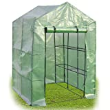 NEW 8 Shelves Greenhouse Portable Mini Walk In Outdoor Green House 2 Tier Allow more sunlight to keep plants warm and good for the growth of plants