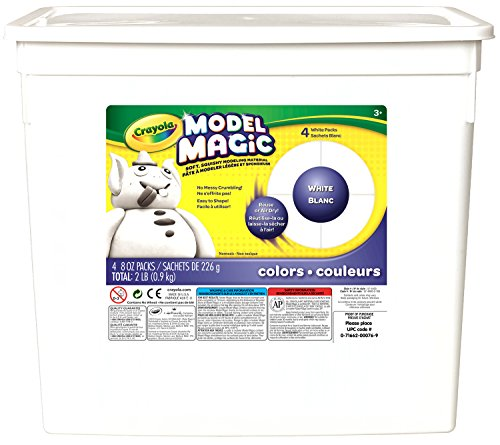 crayola-model-magic-white-modeling-compound-art-tools-2-lb-resealable-bucket-perfect-for-classroom-a