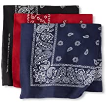 Levi's mens Men's 3 Piece Bandana Set