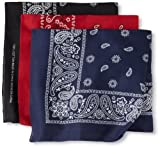 Levi's Men's 3 Piece Bandana Set, Assorted, One Size