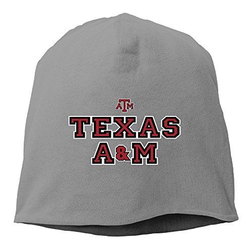 [Caromn Texas A&M University Beanies Skull Ski Cap Hat DeepHeather] (Dark Souls Black Knight Costume)