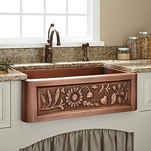 51Rgw5AsPFL._SS300_ Copper Farmhouse Sinks & Copper Apron Sinks